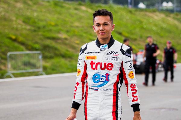 2017 FIA Formula 2 Round 5. Red Bull Ring, Spielberg, Austria. Friday 7 July 2017. Alexander Albon (THA, ART Grand Prix).  Photo: Zak Mauger/FIA Formula 2. ref: Digital Image _54I7133