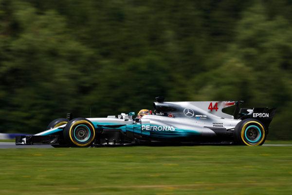 Red Bull Ring, Spielberg, Austria. Saturday 08 July 2017. Lewis Hamilton, Mercedes F1 W08 EQ Power+.  World Copyright: Glenn Dunbar/LAT Images ref: Digital Image _X4I6465