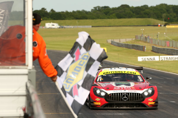 2017 British GT Championship Snetterton, 27th-28th May 2017, Lee Mowle / Ryan Ratcliffe AmDTuning.com Mercedes AMG GT3  World copyright. JEP/LAT Images
