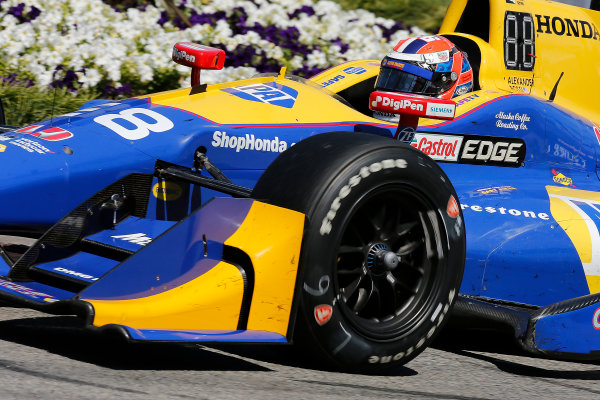 2017 Verizon IndyCar Series Toyota Grand Prix of Long Beach Streets of Long Beach, CA USA Sunday 9 April 2017 Alexander Rossi World Copyright: Perry Nelson/LAT Images ref: Digital Image nelson_lb_0409_3550