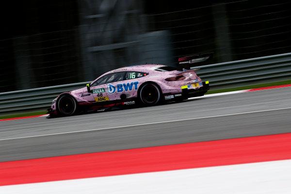 2017 DTM Round 8  Red Bull Ring, Spielberg, Austria  Friday 22 September 2017. Edoardo Mortara, Mercedes-AMG Team HWA, Mercedes-AMG C63 DTM  World Copyright: Alexander Trienitz/LAT Images ref: Digital Image 2017-DTM-RBR-AT2-0579