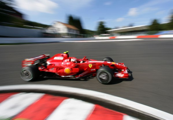 2007 Belgian Grand Prix - Friday Practice