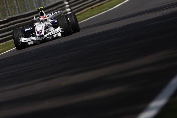 2007 Italian Grand Prix - Friday PracticeAutodromo di Monza, Monza, Italy.7th September 2007.Robert Kubica, BMW Sauber F1 07. Action. World Copyright: Lorenzo Bellanca/LAT Photographicref: Digital Image _64I5028