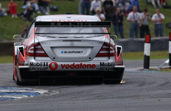 2003 DTM ChampionshipDonington Park, England. 25th - 27th July 2003.World Copyright: Andre Irlmeier/LAT Photographic