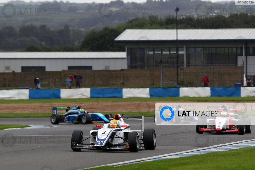 2016 BRDC F3 Championship, Donington Park, Leicestershire. 10th - 11th September 2016. Ben Hingeley (GBR) HHC Motorsport BRDC F3. World Copyright: Ebrey / LAT Photographic.
