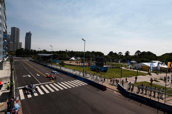 2014 Formula E  Buenos Aires e-Prix, Argentina Saturday 10 January 2015. Oriol Servia (SPA)/Dragon Racing - Spark-Renault SRT_01E  Photo: Sam Bloxham/LAT/Formula E ref: Digital Image _14P7522