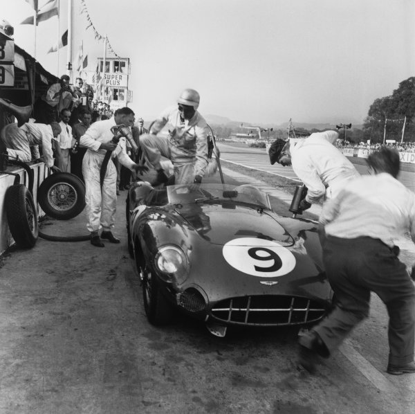 Goodwood, England. 13th September 1958