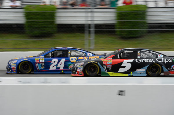 29-31 July, 2016, Long Pond, Pennsylvania USA Chase Elliott, Kasey Kahne ?2016, John Harrelson / LAT Photo USA