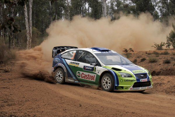 2006 FIA World Rally Champs. Round 6Rally Australia 26-29 October 2006Marcus Gronholm, Ford, actionWorld Copyright: McKlein/LAT