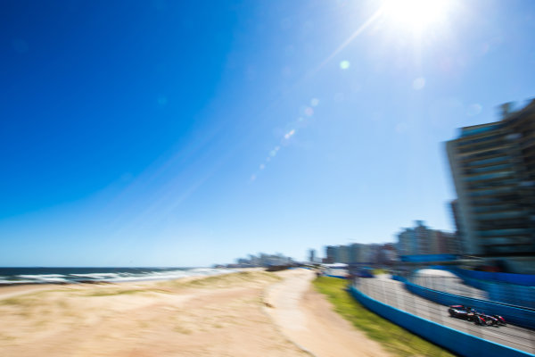 2015/2016 FIA Formula E Championship. Testing, Punta del Este, Uruguay. Sunday 20 December 2015. Sam Bird (GBR), DS Virgin Racing DSV-01. Photo: Zak Mauger/LAT/Formula E ref: Digital Image _L0U0341