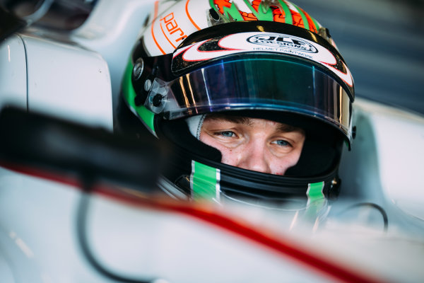 2016 GP3 Series Testing. Estoril, Portugal. Thursday 24 March 2016. Matthew Parry (GBR) Koiranen GP  World Copyright: Malcolm Griffiths/LAT Photographic. ref: Digital Image F80P4805