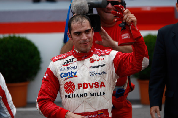 Saturday Race. 23rd May 2009. Pastor Maldonado (VEN, ART Grand Prix). Portrait.  World Copyright: Andrew Ferraro / GP2 Series Media Service.Ref: _H0Y0255 jpg