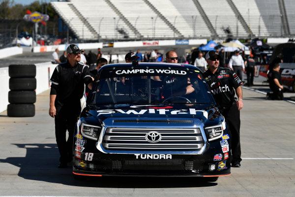 NASCAR Camping World Truck Series  Texas Roadhouse 200 Martinsville Speedway, Martinsville VA USA Friday 27 October 2017 Noah Gragson, Switch Toyota Tundra crew World Copyright: Scott R LePage LAT Images ref: Digital Image lepage-171027-mart-1017