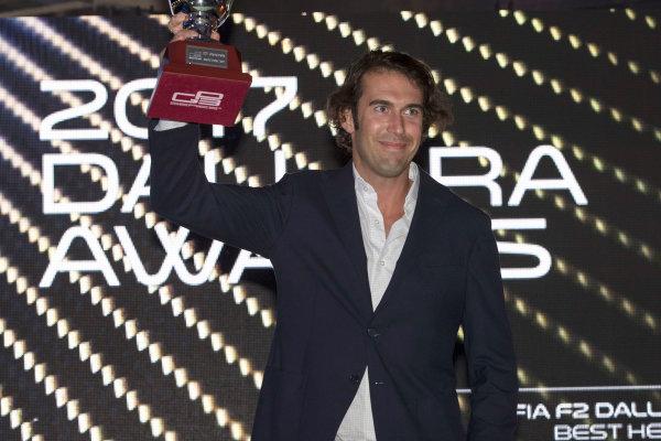 2017 Awards Evening. Yas Marina Circuit, Abu Dhabi, United Arab Emirates. Sunday 26 November 2017.  Photo: Zak Mauger/FIA Formula 2/GP3 Series. ref: Digital Image _56I3703
