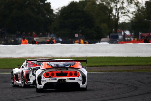 2017 Ginetta GT4 Championship, Silverstone, Northants, UK. 16th-17th September 2017 Dan Kirby Team HARD Ginetta G55g World copyright. JEP/LAT Images