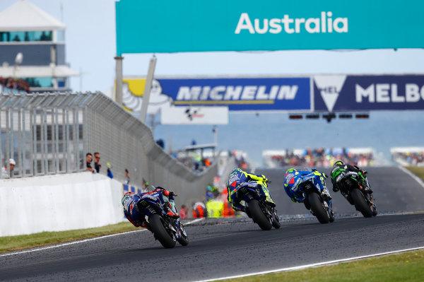 2017 MotoGP Championship - Round 16 Phillip Island, Australia. Sunday 22 October 2017 Johann Zarco, Monster Yamaha Tech 3 World Copyright: Gold and Goose / LAT Images ref: Digital Image 24460