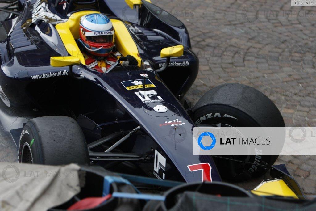 2008 GP2 Series. Round 3. Friday Race. Monte-Carlo, Monaco. 24th May 2008.Christian Bakkerud (DEN, Super Nova Racing). Action. World Copyright: Glenn Dunbar/GP2 Series Media Service.ref:__O9T8854 jpg