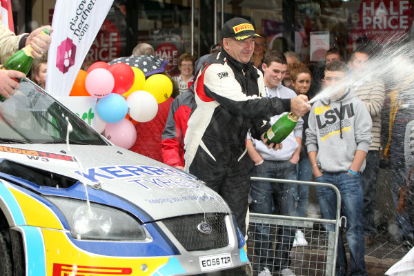 2013 Ulster Rally, Enniskillen. 23rd - 24th August 2013. Derek McGarrity / James McKee - Ford Focus 08 WRC. World Copyright: Ebrey / LAT Photographic.