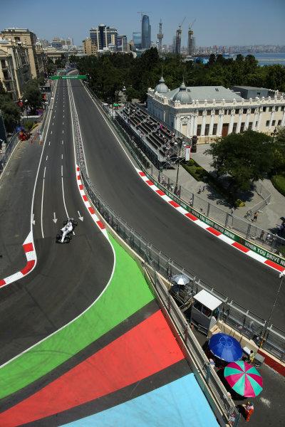 Baku City Circuit, Baku, Azerbaijan. Friday 23 June 2017. Lance Stroll, Williams FW40 Mercedes. World Copyright: Charles Coates/LAT Images ref: Digital Image AX0W5233