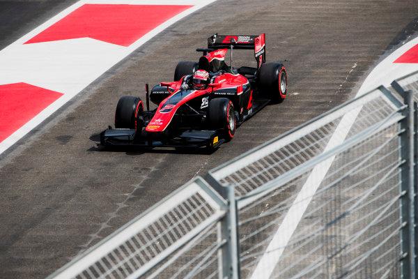 2017 FIA Formula 2 Round 4. Baku City Circuit, Baku, Azerbaijan. Friday 23 June 2017. Nobuharu Matsushita (JPN, ART Grand Prix)  Photo: Zak Mauger/FIA Formula 2. ref: Digital Image _56I6915