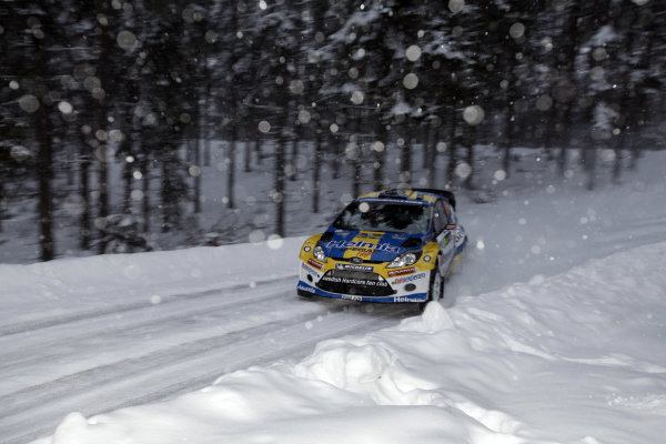 Round 01-Rally Sweden. 10th-13th February 2011.PG Andersson, Ford WRC, Action.Worldwide Copyright: McKlein/LAT