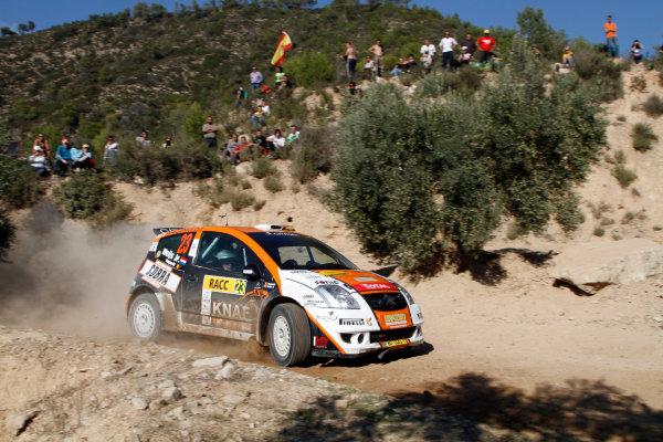 Rally of Spain, Catalunya - Cost Daurada21st October - 24th October 2010Hans Weijs Jnr, Citroen, actionWorldwide Copyright: McKlein/LAT