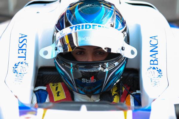 2013 GP3 Series. Round 1.  Circuit de Catalunya, Barcelona, Spain.  12th May Sunday Race 02 Emanuele Zonzini (  Portrait  World Copyright: Malcolm Griffiths/GP3 Media Service.  Ref: Digital ImageC76D5641.JPG