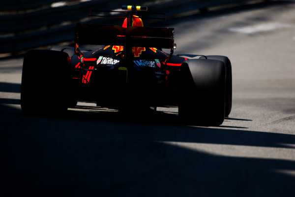 Monte Carlo, Monaco. Saturday 27 May 2017. Max Verstappen, Red Bull Racing RB13 TAG Heuer.  World Copyright: Charles Coates/LAT Images ref: Digital Image AN7T7344