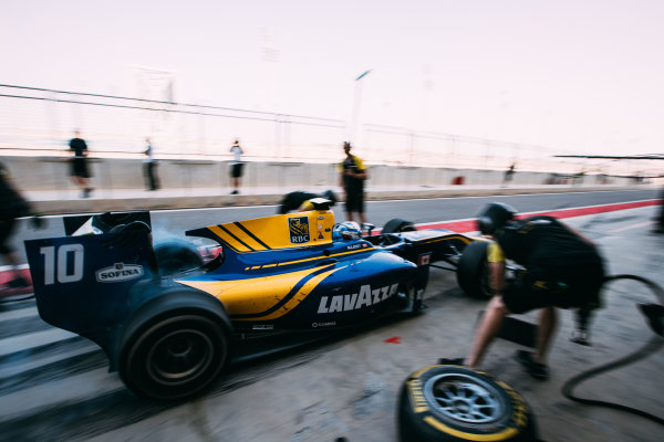 Bahrain International Circuit, Sakhir, Bahrain. Friday 31 March 2017 Nicholas Latifi (CAN) DAMS  Photo: Malcolm Griffiths/FIA Formula 2 ref: Digital Image MALC1721