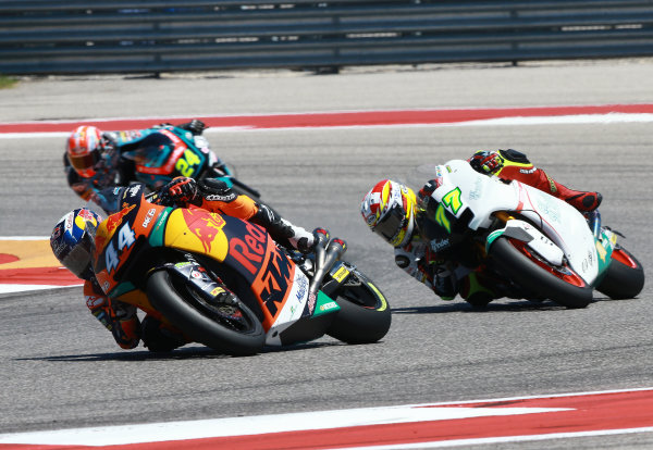 2017 Moto2 Championship - Round 3 Circuit of the Americas, Austin, Texas, USA Sunday 23 April 2017 Miguel Oliveira, Red Bull KTM Ajo World Copyright: Gold and Goose Photography/LAT Images ref: Digital Image Moto2-R-500-2894