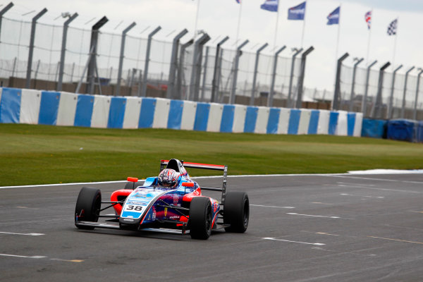 2017 British Formula 4 Championship, Donington Park, April 15th-16th 2017, Jamie Caroline (GBR) Carlin British F4 World Copyright. JEP/LAT Images