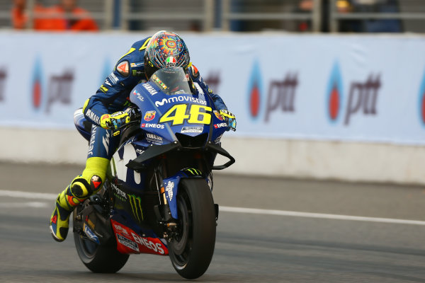 2018 MotoGP Championship - Buriram test, Thailand Friday 16 February 2018 Valentino Rossi, Yamaha Factory Racing World Copyright: Gold and Goose / LAT Images ref: Digital Image MotoGP-500-21035