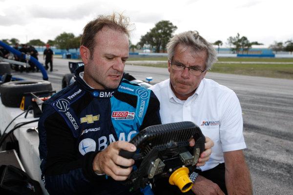 5-9 March, 2012, Sebring, Florida, USARubens Barrichello and Mark Johnson(c)2012, Michael L. LevittLAT Photo USA