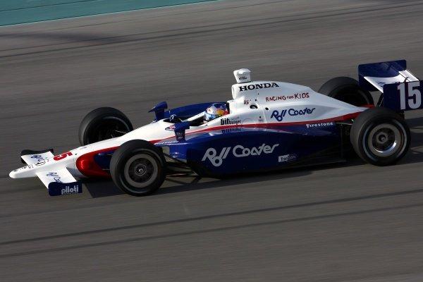 Buddy Rice (USA), Dreyer & Reinbold Racing Dallara Honda.IRL IndyCar Series, Rd1, XM Satellite Indy 300, Homestead-Miami Speedway, Homestead, FLorida, USA. 23-25 March 2007.DIGITAL IMAGE
