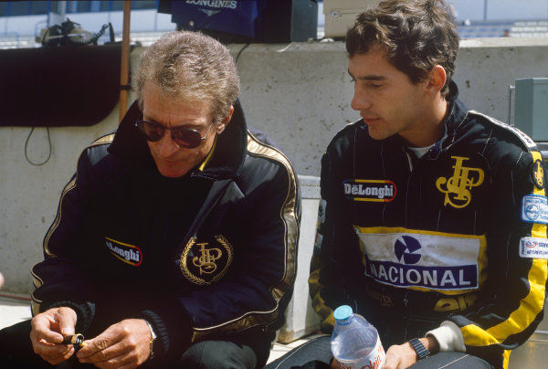 1986 Spanish Grand Prix. 