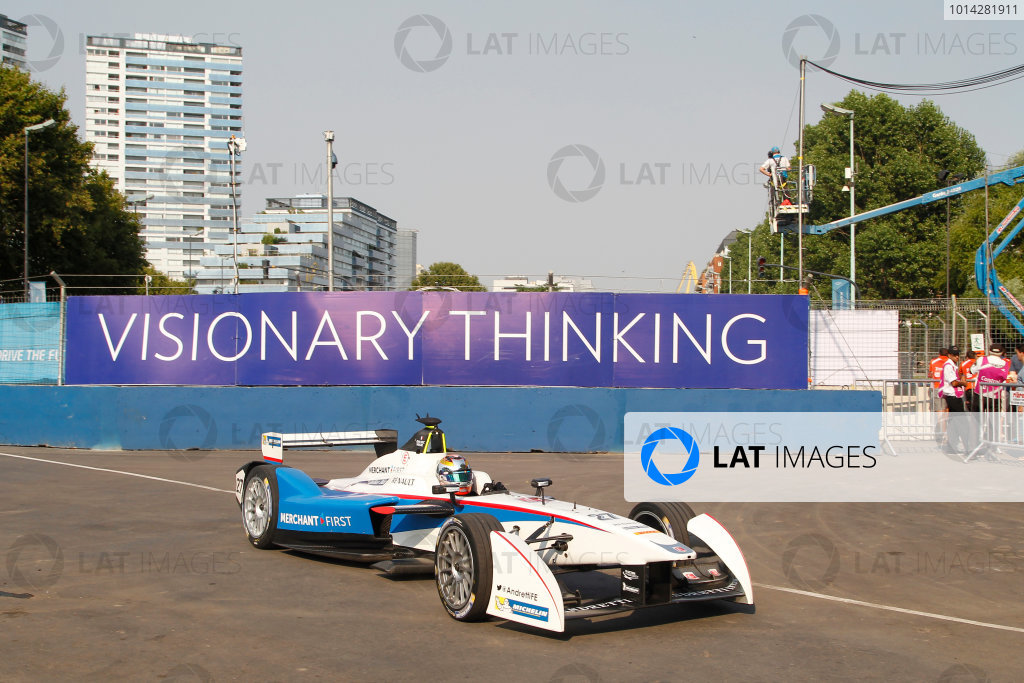 Practice Session 1. Mario Andretti (USA)/Andretti Autosport - Spark-Renault SRT_01E  FIA Formula E World Championship. Buenos Aires, Argentina, South America. Saturday 10 January 2015.  Copyright: Adam Warner / LAT / FE ref: Digital Image _A8C1387