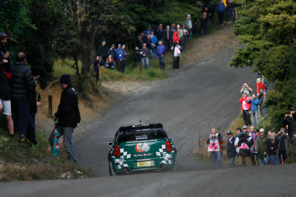 Round 7, Rally New Zealand, 21st-24th June 2012 Paulo Nobre, Mini, Action. Worldwide Copyright: McKlein/LAT Photographic.