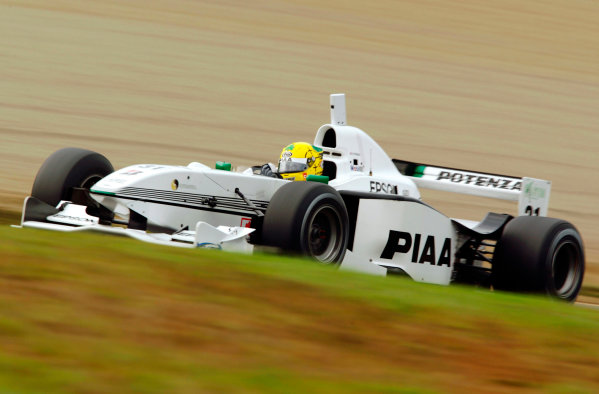 2002 Formula Nippon ChampionshipMotegi, Japan. 20th October 2002.Race winner Ralph Firman (PIAA Nakajima), action.Wprld Copyright: Yasushi Ishihara/LAT Photographicref: Digital Image Only