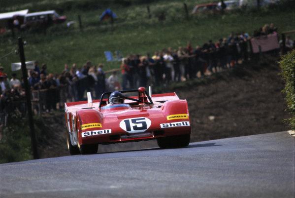 Jacky Ickx / Clay Regazzoni, S.p.A. Ferrari SEFAC, Ferrari 312 PB 0878.