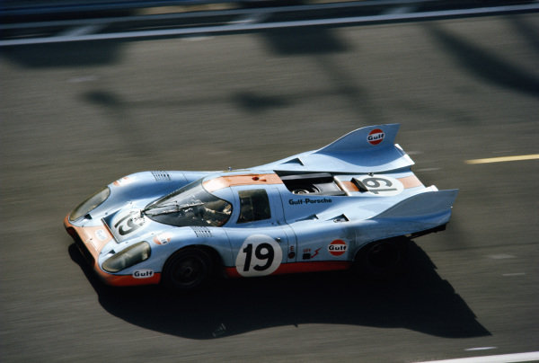 Richard Attwood / Herbert Mueller, J. W. Automotive Engineering, Porsche 917 K.