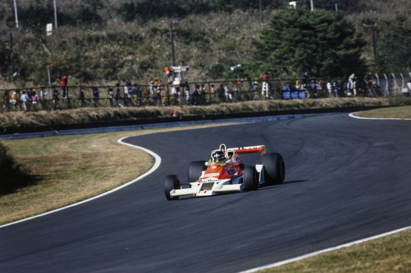 James Hunt, McLaren M26 Ford.
