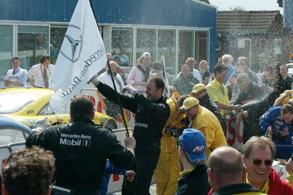 2002 DTM ChampionshipDonington Park, England. 17th - 19th May 2002.World Copyright: LAT Photographicref: Digital Image Only