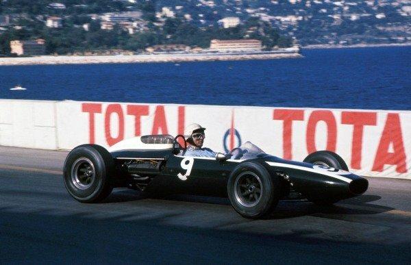 Phil Hill (USA) Cooper T73. 9th palce.  Monaco Grand Prix, Monte Carlo, Monaco, 10 May 1964