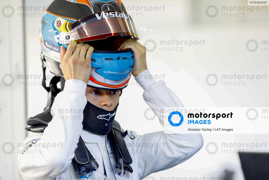 Nyck De Vries (NLD) Mercedes Benz EQ