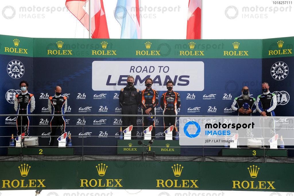 Road to Le Mans P3 Podium