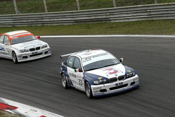 Alex Zanardi (ITA) BMW 320i finished 7th in race 2. The Italian returned to racing for the first time after losing both legs in a horrific accident at the Lausitzring.FIA European Touring Car Championship, Monza, Italy, 19 October 2003.DIGITAL IMAGE