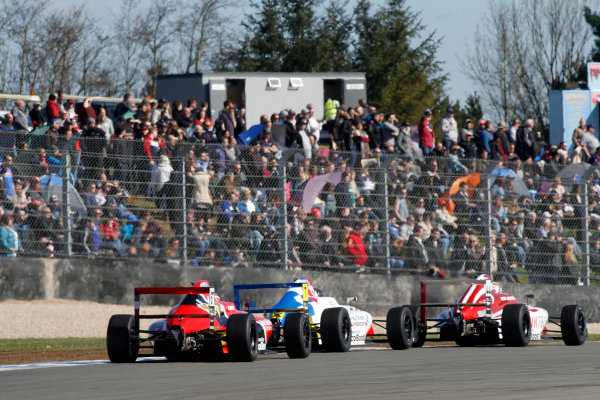 2016 MSA Formula Donington Park, 16th-17th April 2016, Frank Bird (GBR) Fortec Motorsports MSA Formula  World copyright. Jakob Ebrey/LAT Photographic