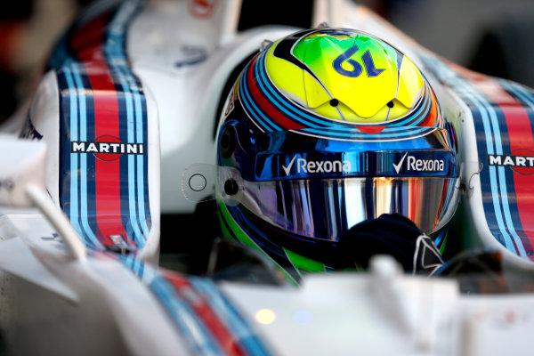 Circuit de Catalunya, Barcelona, Spain Thursday 25 February 2016. Felipe Massa, Williams FW38 Mercedes. World Copyright: Glenn Dunbar/LAT Photographic ref: Digital Image _89P6633