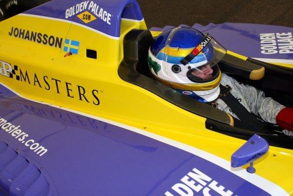 Stefan Johansson (SWE).Grand Prix Masters Testing, Day One, Silverstone, England, 26 October 2005.DIGITAL IMAGE