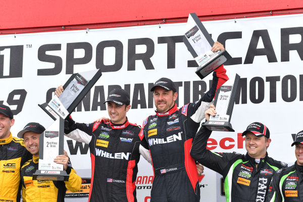 IMSA WeatherTech SportsCar Championship Mobil 1 SportsCar Grand Prix Canadian Tire Motorsport Park Bowmanville, ON CAN Sunday 9 July 2017 31, Cadillac DPi, P, Dane Cameron, Eric Curran World Copyright: Richard Dole/LAT Images ref: Digital Image DOLE_CTMP_17_001429